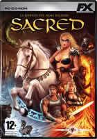 Portada oficial de de Sacred para PC