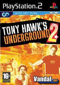 Portada oficial de Tony Hawk Underground 2 para PS2