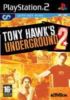 Portada oficial de de Tony Hawk Underground 2 para PS2