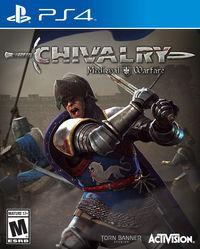 Portada oficial de Chivalry: Medieval Warfare para PS4