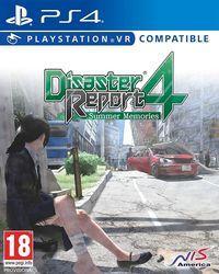 Portada oficial de Disaster Report 4 Plus: Summer Memories para PS4