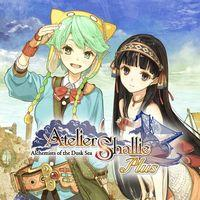 Portada oficial de Atelier Shallie Plus: Alchemists of the Dusk Sea para PSVITA