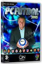 Portada oficial de de PC Fútbol 2005 para PC