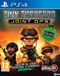 Portada oficial de Tiny Troopers Joint Ops Zombie Edition para PS4