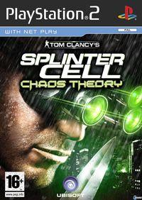 Portada oficial de Splinter Cell Chaos Theory para PS2