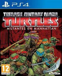 Portada oficial de Teenage Mutant Ninja Turtles: Mutants in Manhattan para PS4