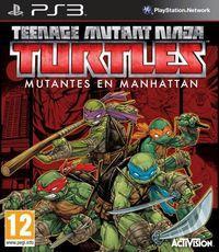 Portada oficial de Teenage Mutant Ninja Turtles: Mutants in Manhattan para PS3