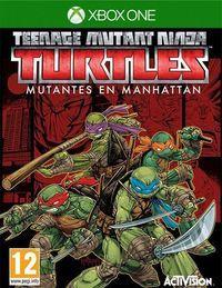 Portada oficial de Teenage Mutant Ninja Turtles: Mutants in Manhattan para Xbox One