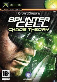 Portada oficial de Splinter Cell Chaos Theory para Xbox