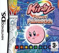 Portada oficial de Kirby: El Pincel del poder CV para Wii U