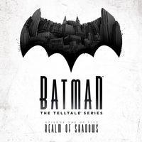 Portada oficial de Batman: The Telltale Series - Episode 1: Realm of Shadows para PS4