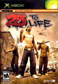 Portada oficial de 25 to Life para Xbox