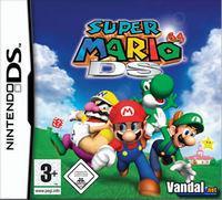 Portada oficial de Super Mario 64 DS para NDS