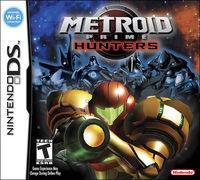 Portada oficial de Metroid Prime: Hunters para NDS