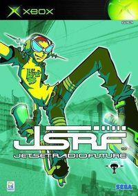 Portada oficial de Jet Set Radio Future para Xbox