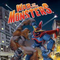 Portada oficial de War of the Monsters para PS4