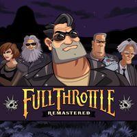 Portada oficial de Full Throttle Remastered para PS4