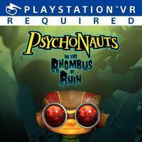Portada oficial de Psychonauts in the Rhombus of Ruin para PS4
