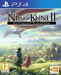 Portada oficial de Ni No Kuni II: El Renacer de un Reino para PS4