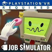 Portada oficial de Job Simulator para PS4