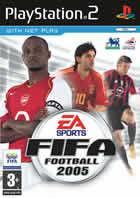 Portada oficial de de FIFA Football 2005 para PS2