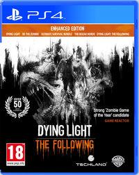 Portada oficial de Dying Light: The Following - Enhanced Edition para PS4