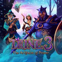Portada oficial de Trine 3: The Artifacts of Power para PS4