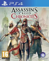 Portada oficial de Assassin's Creed Chronicles para PS4