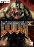 Portada oficial de de Doom III para PC