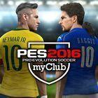 Portada oficial de de PES 2016 myClub para PS4