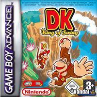 Portada oficial de Donkey Kong King of Swing para Game Boy Advance