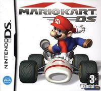 Portada oficial de Mario Kart DS para NDS
