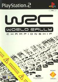 Portada oficial de World Rally Championship para PS2