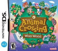 Portada oficial de Animal Crossing: Wild World para NDS