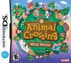 Portada oficial de de Animal Crossing: Wild World para NDS