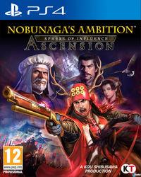 Portada oficial de Nobunaga's Ambition: Sphere of Influence – Ascension para PS4