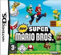 Portada oficial de New Super Mario Bros. para NDS