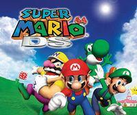 Portada oficial de Super Mario 64 DS CV para Wii U