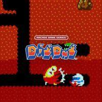 Portada oficial de Arcade Game Series: Dig Dug para PS4