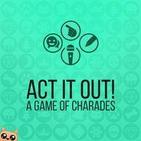 Portada oficial de ACT IT OUT! Un juego de adivinanzas para PS4