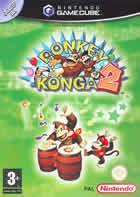 Portada oficial de de Donkey Konga 2 Hit Songs Parade para GameCube