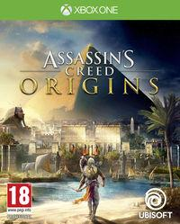 Portada oficial de Assassin's Creed Origins para Xbox One