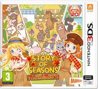 Portada oficial de Story of Seasons: Trio of Towns para Nintendo 3DS