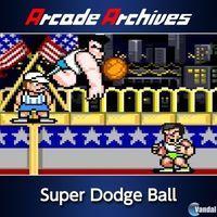 Portada oficial de Arcade Archives: Super Dodge Ball para PS4