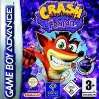 Portada oficial de Crash Bandicoot: Fusion para Game Boy Advance
