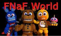 Portada oficial de Five Nights at Freddy's World para Android