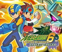 Portada oficial de Mega Man Battle Network 6: Cybeast Gregar CV para Wii U