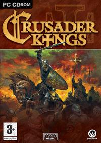 Portada oficial de Crusader Kings para PC