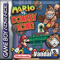 Portada oficial de Mario Vs. Donkey Kong para Game Boy Advance