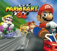Portada oficial de Mario Kart 64 CV para Wii U